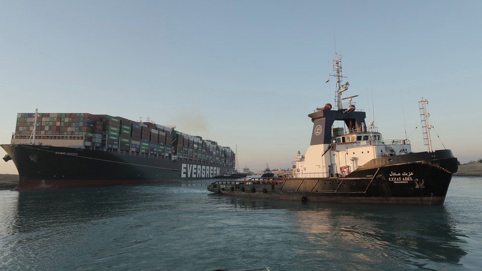 Suez Canal Incident